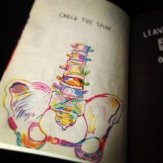Wreck This Journal.  I loved drawing this :)