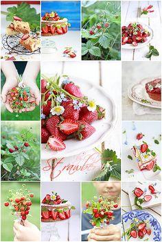 Collage-Strawberries | by Cintamani, GreenMorning.pl