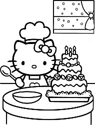 Crayola giant coloring pages hello kitty ~ Happy Holidays Coloring Pages   Here are more Happy ...