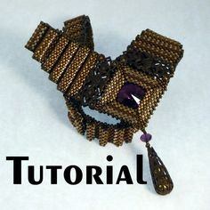 TUTORIAL Industrial Chic Corrugated Filigree Necklace | Mikki Ferrugiaro Designs