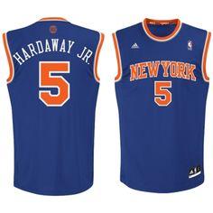 fc0c91e2525f ... Tim Hardaway Jr. New York Knicks adidas Preschool Replica Jersey – Royal  Blue ...