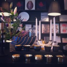 SKULTUNA 1607 is one of our favourite brands in our store just now. Here's the pretty brass candleholders as well as the ever so popular candelabras by DESIGN HOUSE STOCKHOLM.