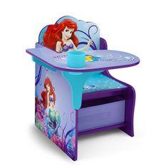 "Disney Little Mermaid Chair Desk with Storage Bin - Delta - Toys ""R"" Us"