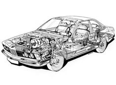 s h a r k n o s e - Die BMW Baureihe E24 - Serie 1, 2, 3