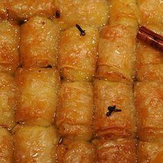 γαλακτομπουρεκάκια (βαρελάκια μικρά) International Recipes, Sweet, Candy