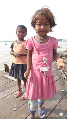 Two little sisters in Myanmar, former Burma. Buddhism |  Travel