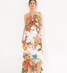vestido longo bouquet baiano