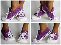 Ravelry: Quick and Easy crochet pattern - shoes Sport pattern by Natalija Puschkina