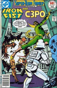 Iron Fist & C3PO
