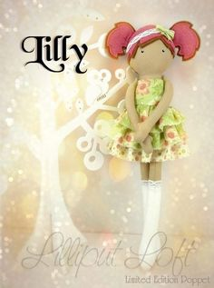 Lilly - Pretty Poppets © Lilliput Loft 2014