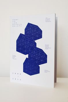Portfolio 08 | 12 #portfolio #design #graphic #architecture #uk #nicogalati #ikb #international #klein #blue