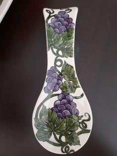 Çini kaşıklık Flower Vases, Flowers, Decoupage Vintage, Ceramic Vase, Spoon, Pottery, Ceramics, Tableware, Modern