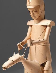 Irving-harper-paper sculpture