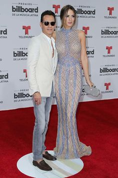 93894be6b90438 Marc Anthony and Shannon de Lima attend the Billboard Latin Music Awards at  Bank United Center on April 2016 in Miami