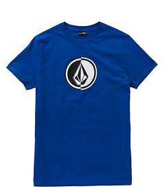 Reine Baumwolle und ein stylisher Volcom Logo-Frontprint zeichnen das Circle Stone Shirt aus.
