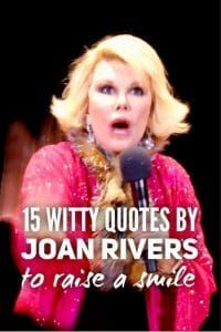15 witty quotes by Joan Rivers to raise a smile - Roy Sutton