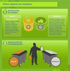 Los beneficios del reciclaje.