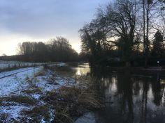 Frosty morning at Bowers Lock. Jan 15