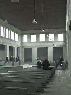 Extension of St. Benedicts' Abbey at Vaals, The Netherlands, 1956-1986 Dom Hans van der Laan