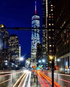 When the road looks rough ahead, remember the Man Upstairs and the word Hope. Hang on to both and tough it out. - John Wayne . 03.23.16 Light trails and One World Trade Center, New York City, its spire shines in solidarity with Belgium. #jesuisbruxelles  .  Featured in these wonderful hubs, thank you so much!  Friends, check them out! @newyorkcityfeelings @loves_longexposure @rsa_night @grandiose_pics . #awesome_photographers #amazing_longexpo #beautifuldestinations #fs_longex...