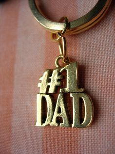 03dd1d5bffa Number 1 Dad Key Ring - A Gift For Dad - Gifts Under 15
