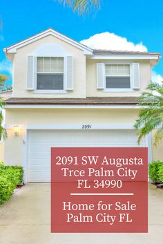 You and your family will definitely fall in love in this gorgeous Palm City FL home for sale!