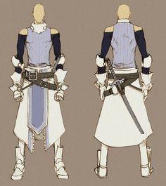 White Swordman - concept by MizaelTengu on deviantART