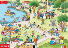 Au parc: que font-ils? Teaching French, Teaching English, Picture Comprehension, Action Verbs, Picture Story, Picture Description, English Lessons, Special Education, Writing Prompts