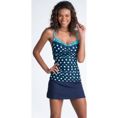 turquoise print underwired tankini by s oliver turquoise. Black Bedroom Furniture Sets. Home Design Ideas