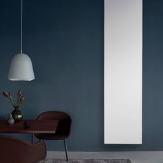 Love looks like this interior. Flat Panel Radiators, Vertical Radiators, Scandinavian Style, Sheds, Danish, My House, Minimalism, Interiors, Interior Design
