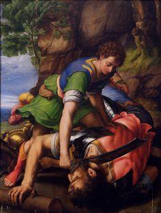 Photograph-David beheading Goliath-Photograph printed in the USA David Et Goliath, Rey David, Fra Angelico, Fine Art Prints, Canvas Prints, Museum, Sacred Art, Christian Art, Wonderful Images