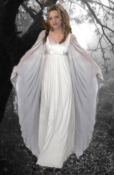 vestido de novia tippo hada