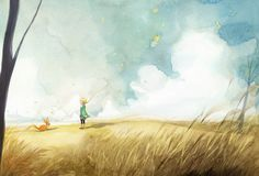 The little prince illustrations
