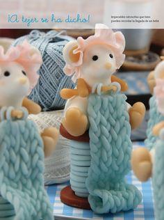 Ratoncita - Porcelana Fría