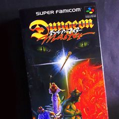 On instagram by 16lifegames #retrogames #microhobbit (o) http://ift.tt/1T985LV Collection  DUNGEON MASTER #rpg #rol #dungeon #dragons  My new adventure is to continue completing my list Super Famicom . I have a very personal collection that gradually you will be showing every day. Each game is available for purchase you just have to contact me by private or in my mail 16lifegames (at) gmail.com Remember that you can ask me for more product photos.  It is a pleasure and if you miss some games…
