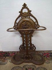 Antique Stick Stand-for retaining walking sticks and umbrellas.