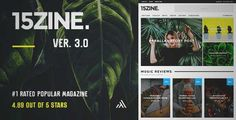 Download and review of 15Zine - HD Magazine / Newspaper WordPress Theme, one of the best Themeforest Magazine & Blogs themes {Download & review at|Review and download at} {|-> }http://best-wordpress-theme.net/15zine-hd-magazine-newspaper-download-review/