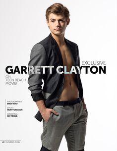 Glamoholic.com   Exclusive Interview With Garrett Clayton: Teen Beach Movie