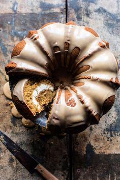 Brown sugar pumpkin coffee cake