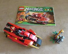 lego ninjago motorcycle instructions