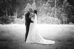 Weddings...outdoor photography..using the gorgeous surroundings to create a romantic image