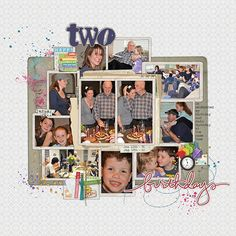 Great layout for lots of pictures