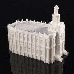 Download on https://cults3d.com #3Dprinting #Impression3D 3D printed St. George, Utah LDS (Mormon) Temple Model, TheTempleStore