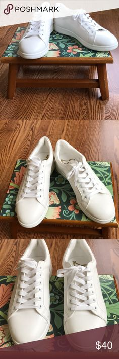 f417af7bb71418 Spotted while shopping on Poshmark  Sam Edelman Classic White Sneakers Size  8!  poshmark