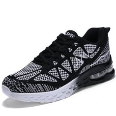 QTMS Womens Breathable Lightweight Athletic Running Shoes Sport Fitness Gym  Jogging Fashion Sneakers QT825ABlack #GymIdeas