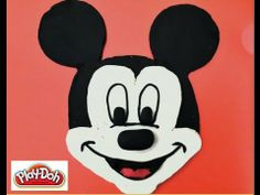 Play Doh How to make Mickey Mouse Surprise Walt Disney