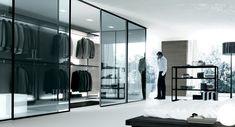 Eksklusiv forhandler af elegante glasdøre til indbygning - BJARNHOFF A/S
