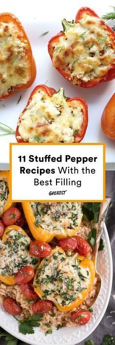 The veggie is as versatile as it is delicious and nutritious. #greatist https://greatist.com/eat/stuffed-peppers-recipes-that-are-healthy-yet-filling
