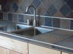 Home kitchen ideas i really like on pinterest granite Porcelain countertops cost