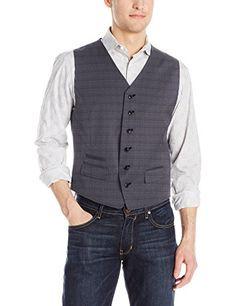 Ben Sherman Men's Harrow Suit Seperate Vest, Grey Windowp ... #Mens #Fashion #MensFashion #Clothes #Clothing